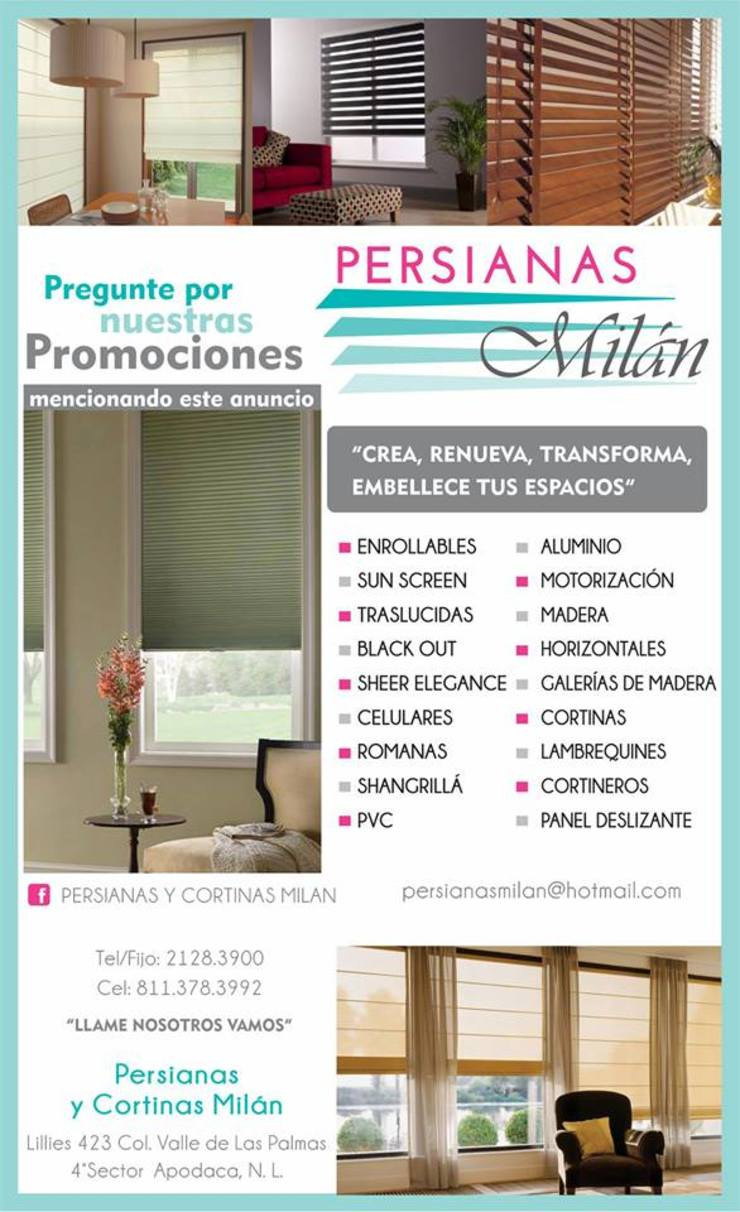 by persianas y cortinas milan