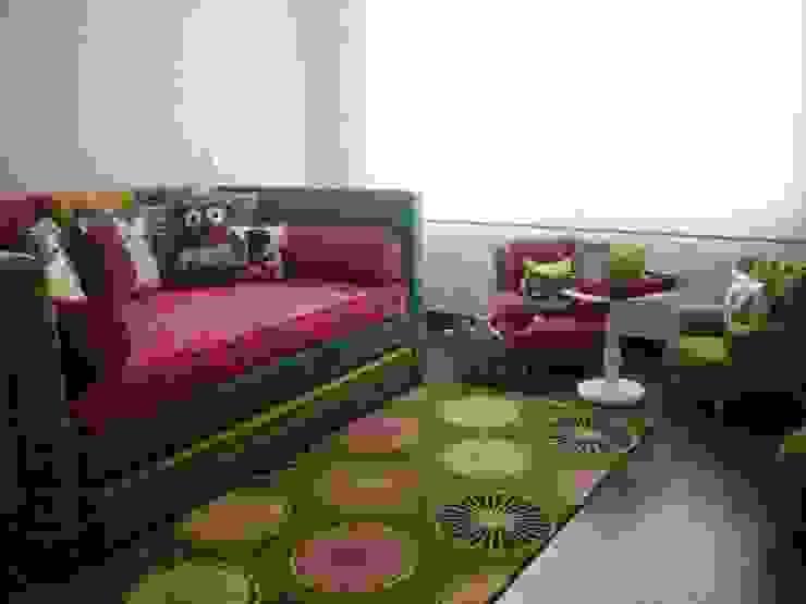 Area de Artmosfera Kids Ecléctico Textil Ámbar/Dorado