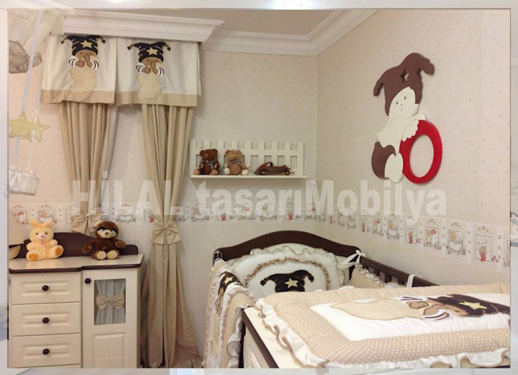 Детская комната в стиле модерн от Hilal Tasarım Mobilya Модерн