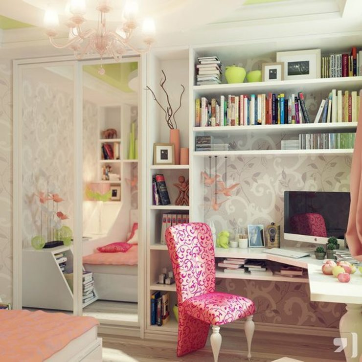Genç Odası Modern Çalışma Odası Hilal Tasarım Mobilya Modern