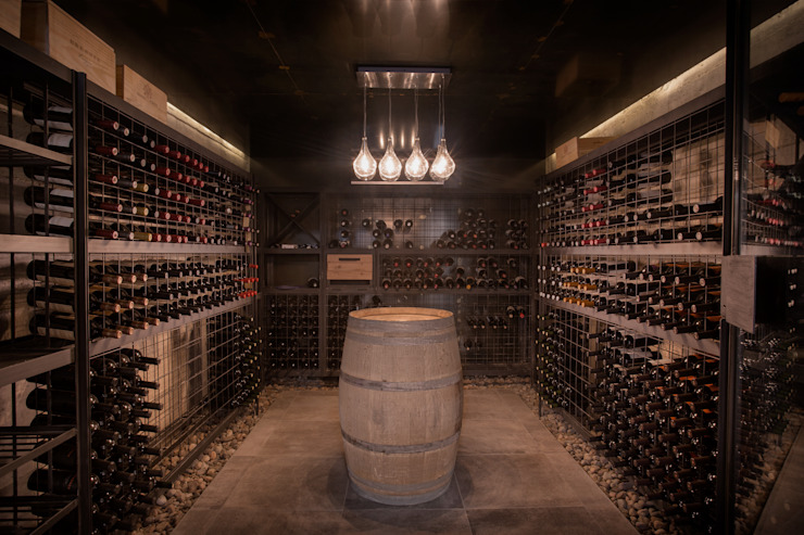 Wine cellar by A4estudio