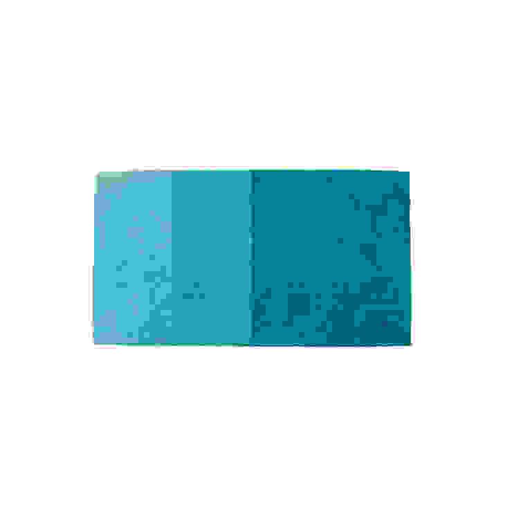 Rug MINILOOP Blue por Korkrugs Moderno