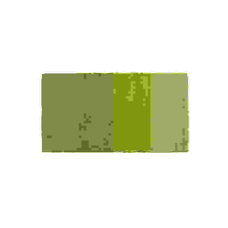 Rug MINILOOP Green por Korkrugs Moderno