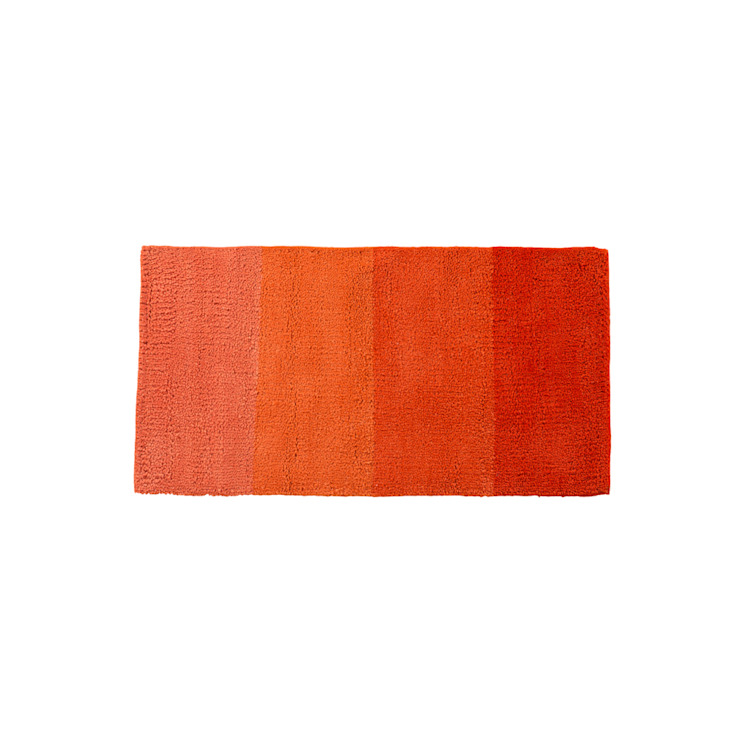 Rug MINILOOP Orange por Korkrugs Moderno