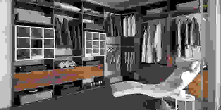 Dormitorios de estilo  por MUEBLES OYAGA