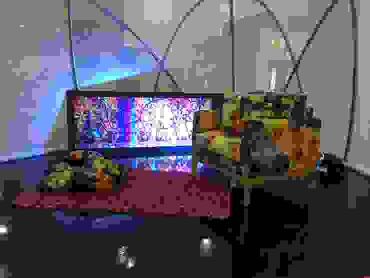 Hostal_28: Salas de estilo  por 11:11 Arte Contemporaneo, Moderno