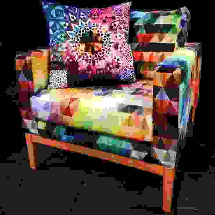 Sillon Multicolor Estudios y despachos modernos de 11:11 Arte Contemporaneo Moderno