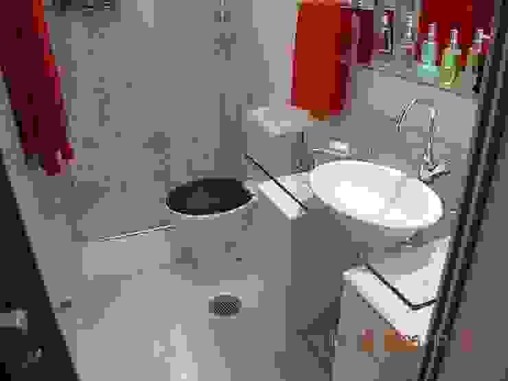 Apartamento Palmas do Tremembé Banheiros modernos por VT Design - Arquitetura e Interiores Moderno Azulejo