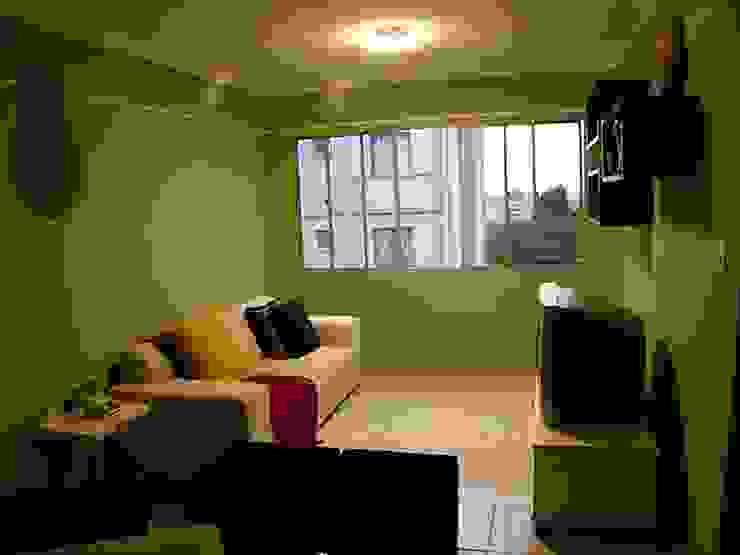 Apartamento Palmas do Tremembé Salas de estar modernas por VT Design - Arquitetura e Interiores Moderno Cerâmica