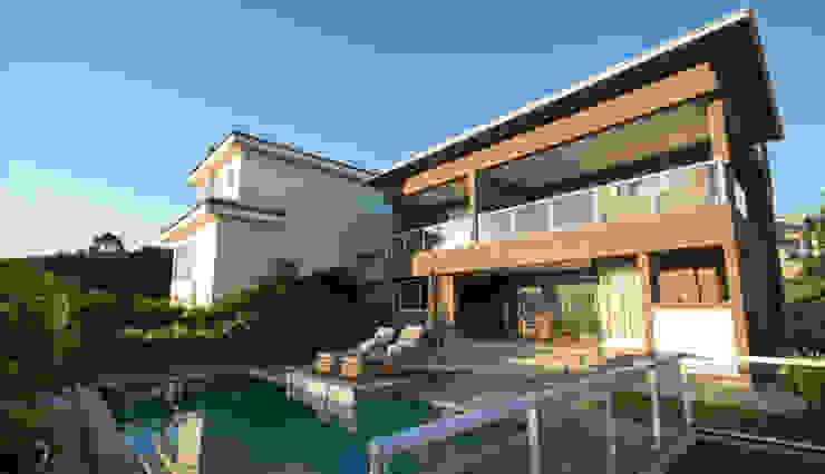 Residência - Tamboré Piscinas modernas por Moran e Anders Arquitetura Moderno