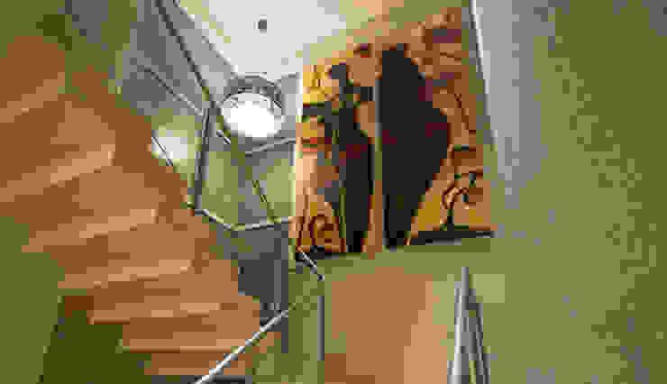 Residência - Tamboré Corredores, halls e escadas modernos por Moran e Anders Arquitetura Moderno