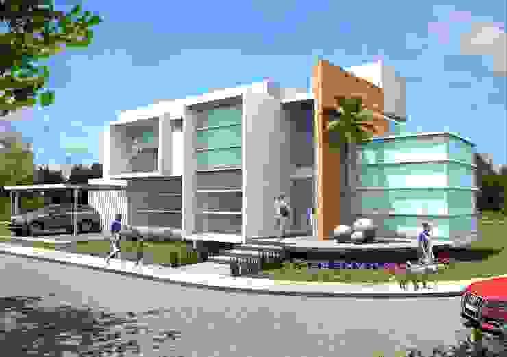 Minimalist house by Milla Arquitectos S.A. de C.V. Minimalist