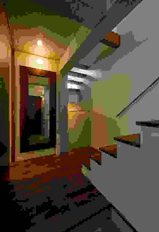 玄関 和風の 玄関&廊下&階段 の アール・アンド・エス設計工房 和風