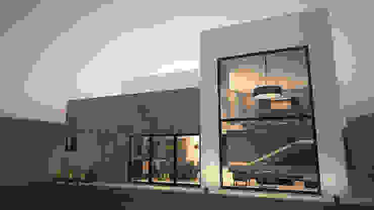 Fachada posterior / Norte Casas modernas de homify Moderno