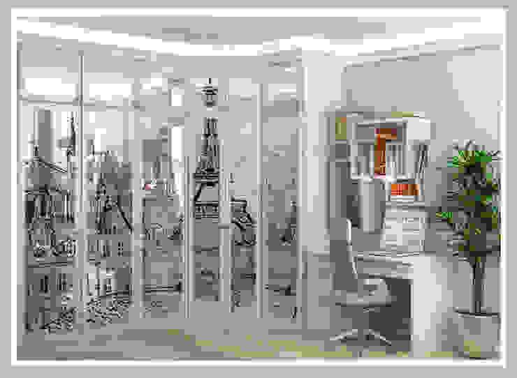Комната для молодой семьи Вид 3 Спальня в стиле минимализм от Рязанова Галина Минимализм