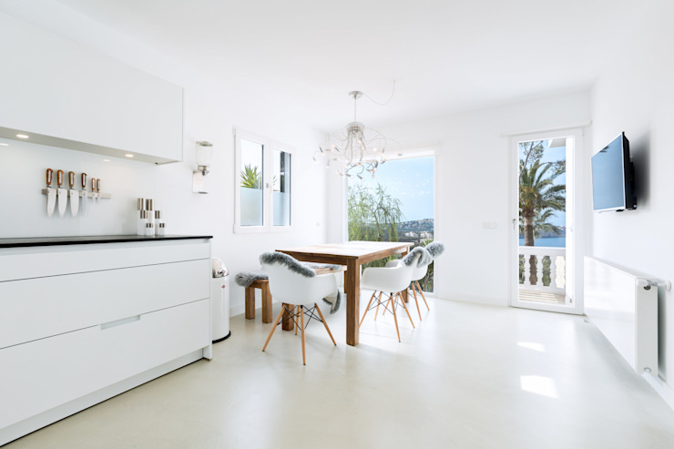 ISLABAU constructora Kitchen White