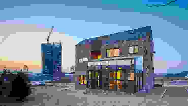 Modern houses by (주)유타건축사사무소 Modern Bricks