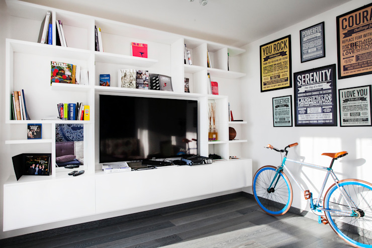 La casa dei miei sogni: Soggiorno in stile  di Alessandro Corina Interior Designer