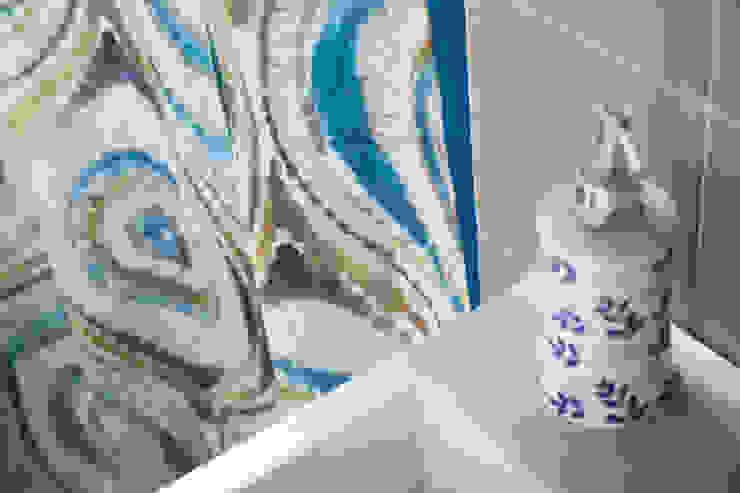 Alessandro Corina Interior Designer Mediterranean style bathroom