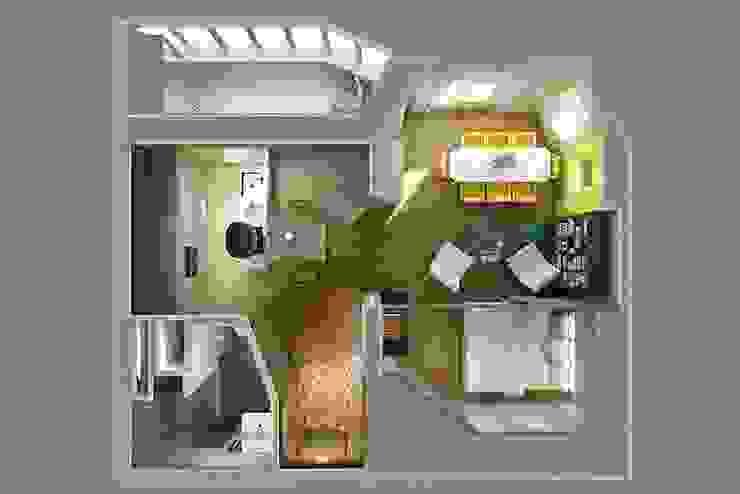 The project is a one-room apartment. Дома в классическом стиле от Design studio of Stanislav Orekhov. ARCHITECTURE / INTERIOR DESIGN / VISUALIZATION. Классический