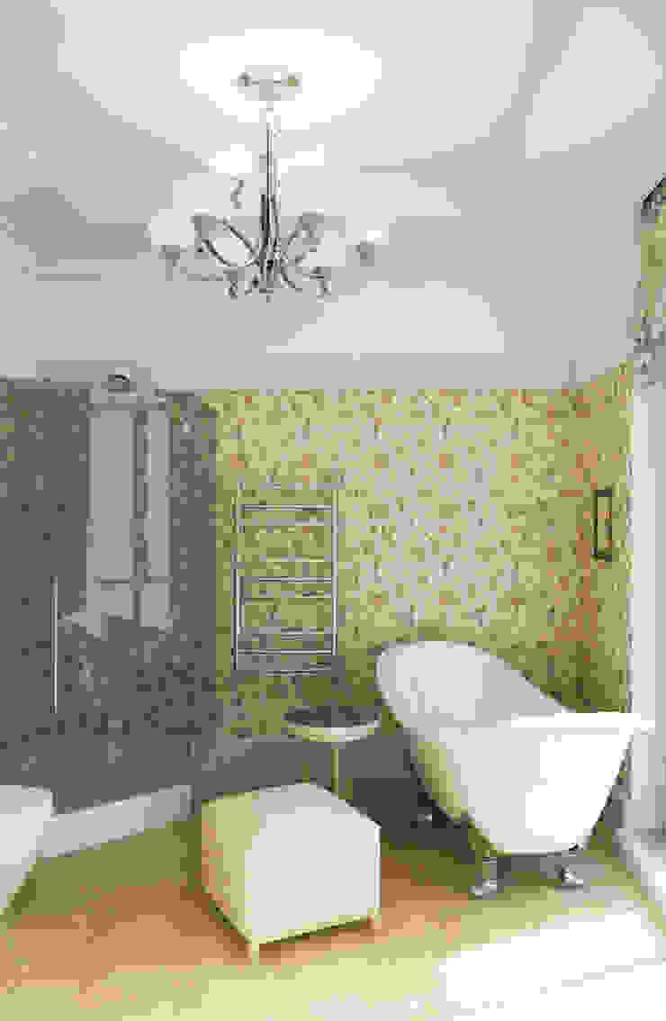 Ванная комната Ванная комната в стиле модерн от Студия Искандарова Модерн