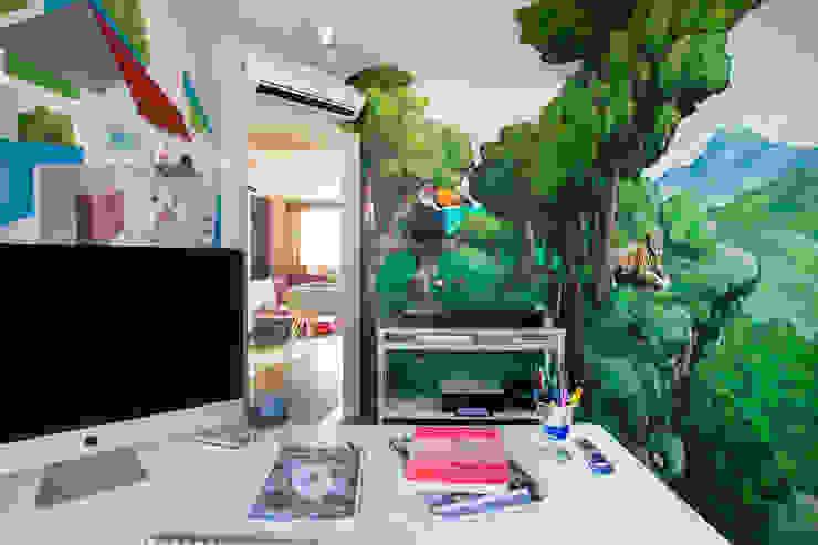 Phòng học/văn phòng phong cách Địa Trung Hải bởi Alessandro Corina Interior Designer Địa Trung Hải