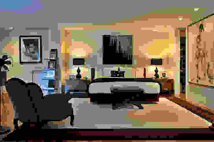 Apartamento em Cascais Quartos modernos por Pureza Magalhães, Arquitectura e Design de Interiores Moderno