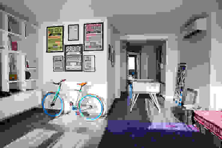 Ruang Keluarga Gaya Mediteran Oleh Alessandro Corina Interior Designer Mediteran