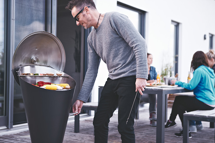 höfats GmbH Garden Fire pits & barbecues Black