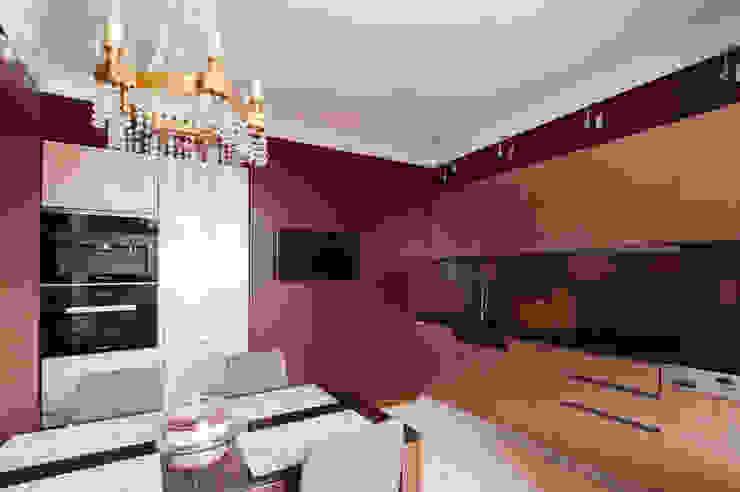 Квартира в Москве 106 кв. м. Кухни в эклектичном стиле от MM-STUDIO Эклектичный