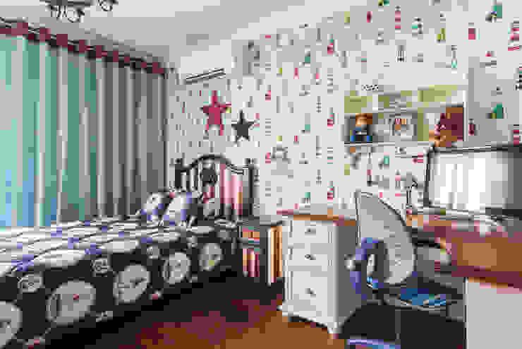 Квартира в Москве 106 кв. м. Детские комната в эклектичном стиле от MM-STUDIO Эклектичный