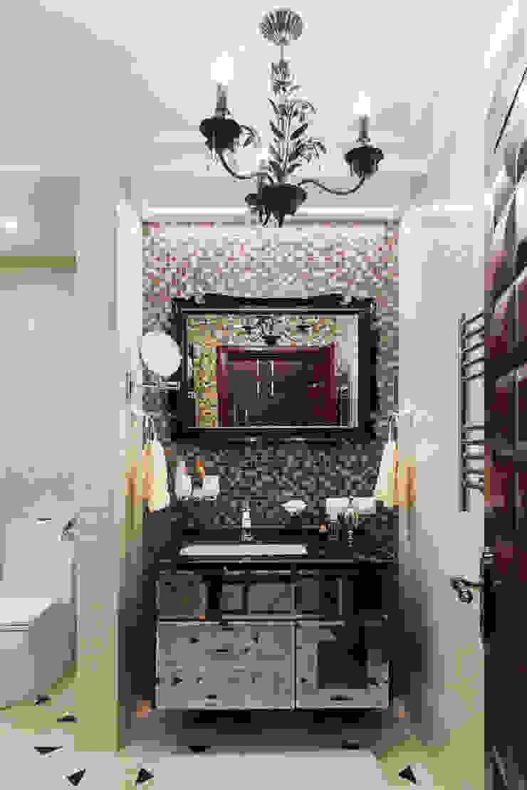 Квартира в Москве 106 кв. м. Ванная комната в эклектичном стиле от MM-STUDIO Эклектичный