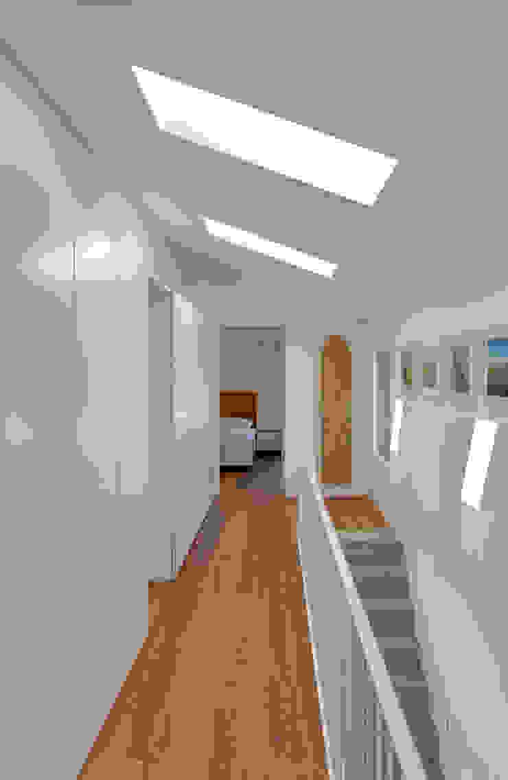 Treppenraum Moderner Flur, Diele & Treppenhaus von Möhring Architekten Modern