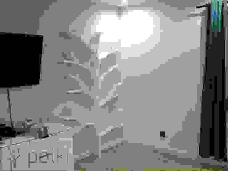 Półka drzewo 210x130x18cm od INSPIRUJĄCE PÓŁKI Nowoczesny