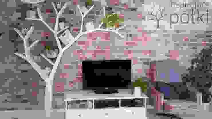 Półka drzewo 210x210 od INSPIRUJĄCE PÓŁKI Nowoczesny