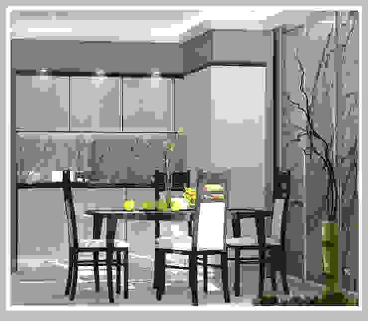 Кухня Вид 2 Кухня в стиле минимализм от Рязанова Галина Минимализм