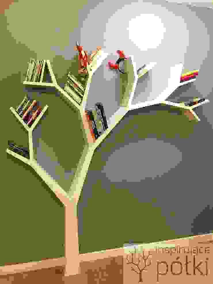 Półka jak drzewo 210x210 od INSPIRUJĄCE PÓŁKI Nowoczesny