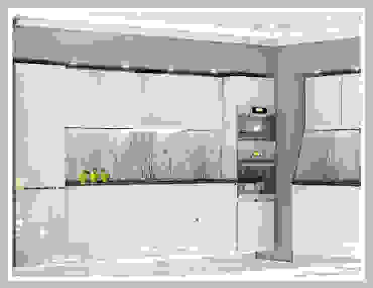 Кухня Вид 3 Кухня в стиле минимализм от Рязанова Галина Минимализм