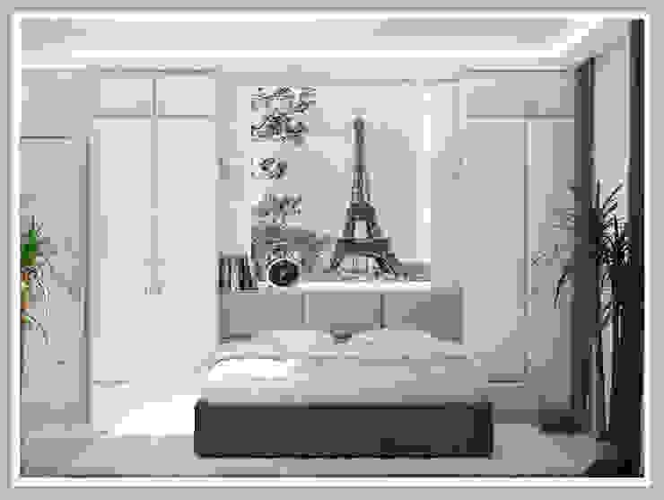 Спальня Вид 2 Спальня в стиле минимализм от Рязанова Галина Минимализм
