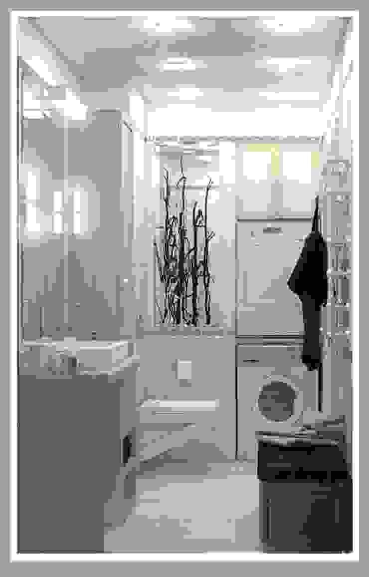 Санузел большой вид 1 Ванная комната в стиле минимализм от Рязанова Галина Минимализм