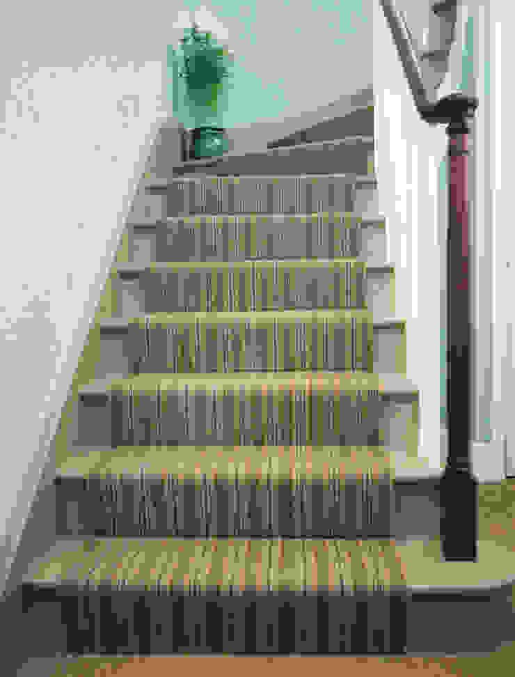 Felixstowe 1 Stair Runner Fleetwood Fox Ltd Classic style corridor, hallway and stairs Green