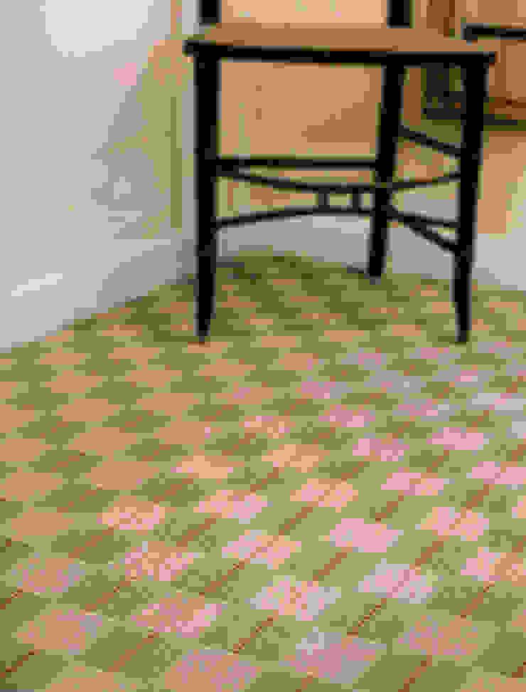 Greenwich 1 Landing Carpet Fleetwood Fox Ltd Classic style corridor, hallway and stairs Green