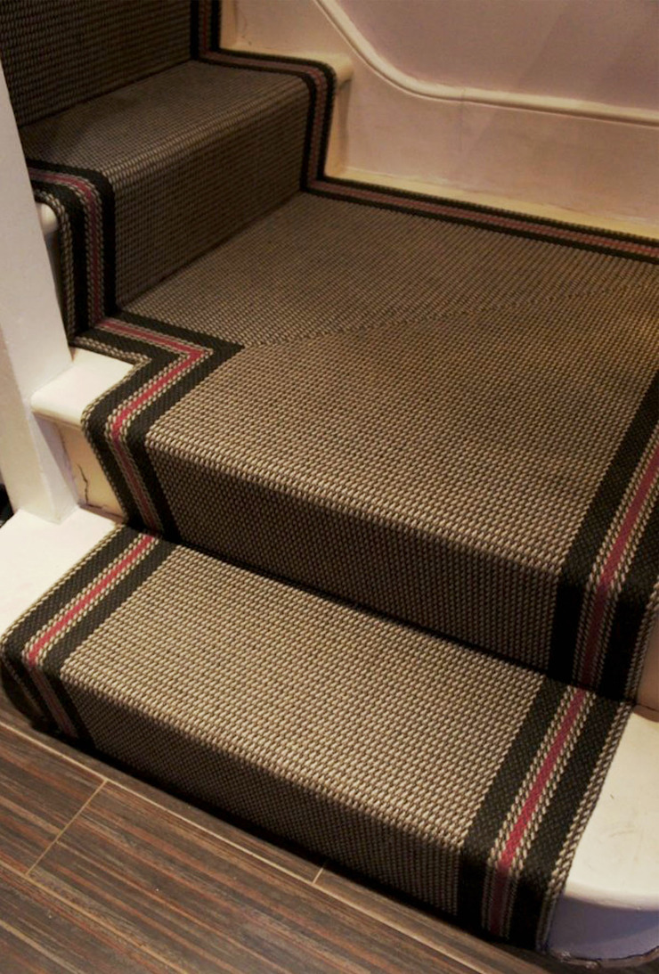 Hanover 6 Stair Runner Fleetwood Fox Ltd Classic style corridor, hallway and stairs Brown