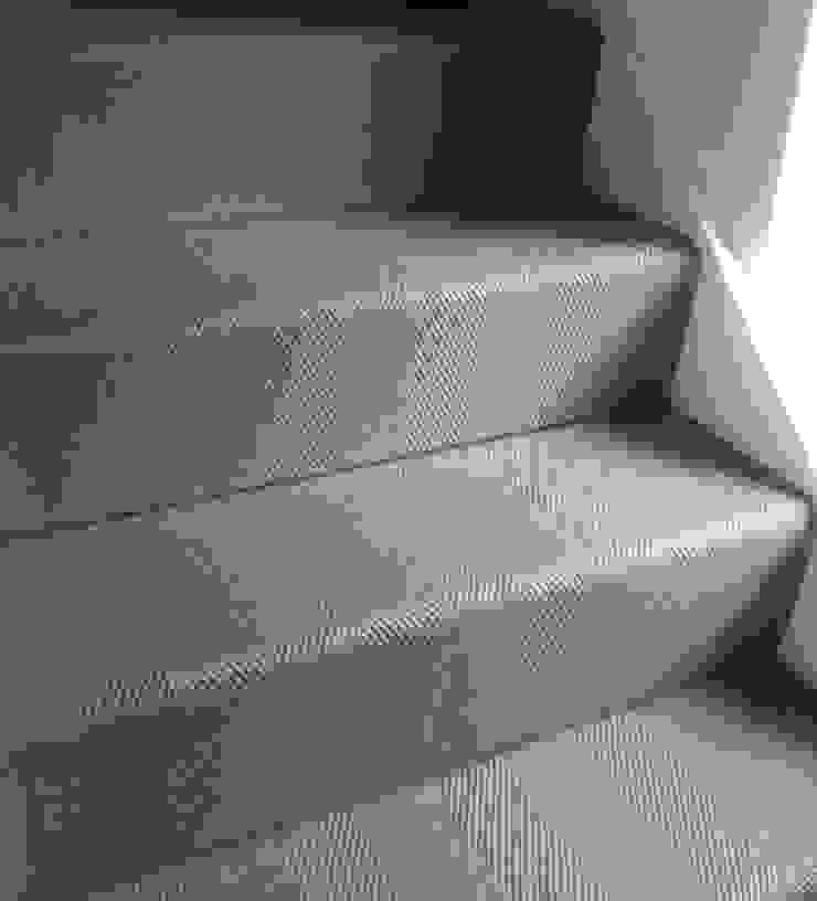 Herringbone 31 Stair Runner Fleetwood Fox Ltd Classic style corridor, hallway and stairs Grey