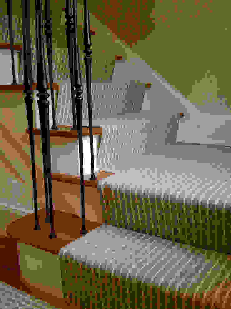 Honiton 16 Stair Runner Fleetwood Fox Ltd Classic style corridor, hallway and stairs Grey