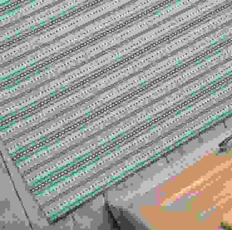 Felixstowe Rug Fleetwood Fox Ltd Walls & flooringCarpets & rugs Wool Blue