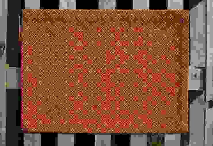 Merriot Doormat Fleetwood Fox Ltd Walls & flooringCarpets & rugs Wool Red