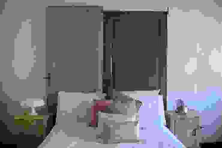 Wiejska sypialnia od simomera Wiejski