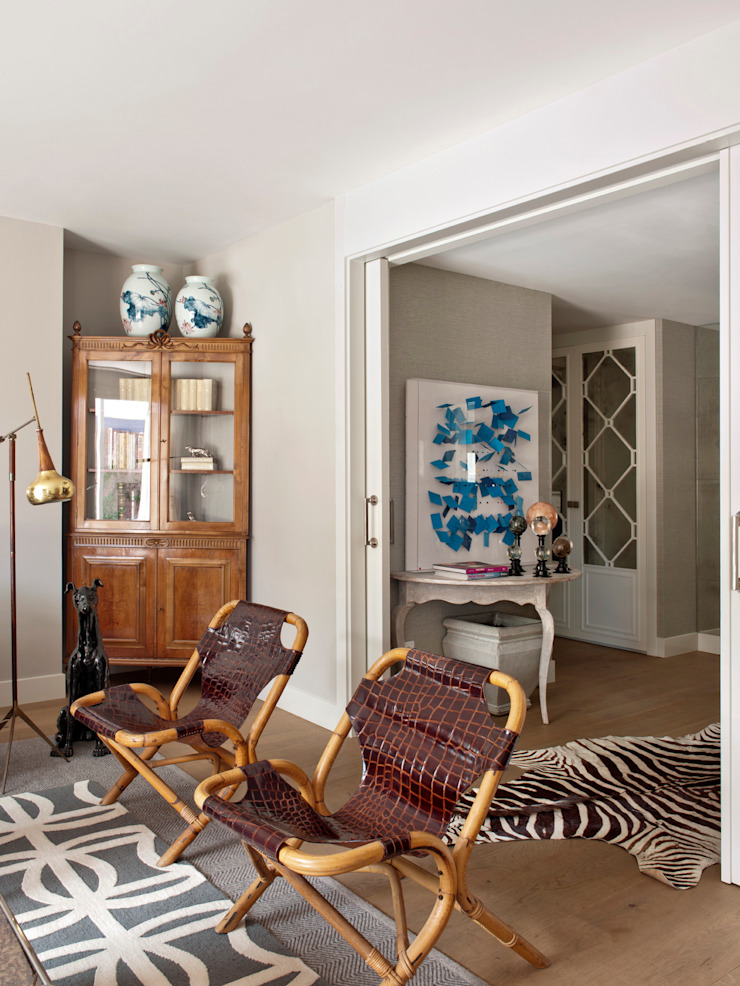 BELEN FERRANDIZ INTERIOR DESIGN Ausgefallene Wohnzimmer