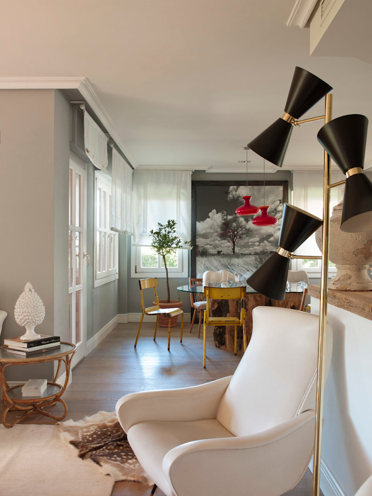 BELEN FERRANDIZ INTERIOR DESIGN Eclectic style dining room